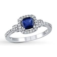 1 Carat Cushion Cut Engagement Ring Perfect 1 Carat Cushion Cut Sapphire And Round Diamond Engagement