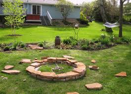 How To Make A Fire Pit In Your Backyard by How To Make A Stacked Stone Fire Pit