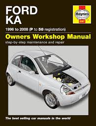 ford ka 1996 2008 haynes manual amazon co uk car u0026 motorbike