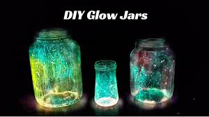 how to make glow jars diy christmas decoration ideas youtube