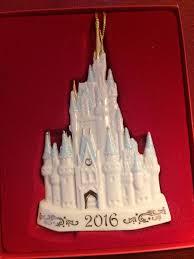 lenox 2016 disney s cinderella s castle ornament ebay