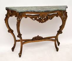 Antique Console Table Antique Console Table With Marble Top Console Tables Ideas