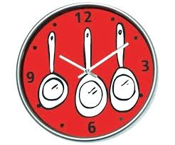 pendule originale pour cuisine pendules de cuisine horloge pendule moderne design horloge murale