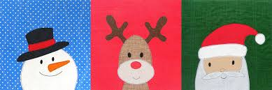 rudolph the nosed reindeer a free applique pattern shiny