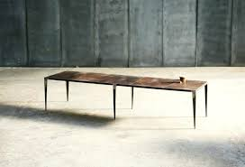 Ottoman Zoo Shrp Leather Coffee Table Made To Measure By Heerenhuis Leather