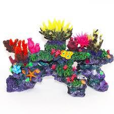 Aquarium Decoration Ornaments Fake Coral Reef Amazing Amazon
