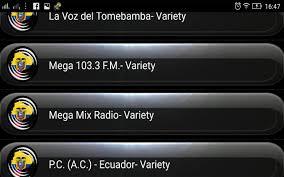 radio fm ecuador android apps on google play