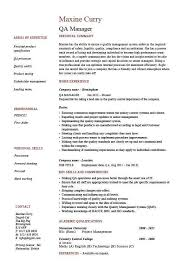 Health Inspector Resume Quality Control Resume Sample Unforgettable Quality Assurance