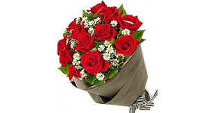 Red Rose Bouquet Delighting Red Roses