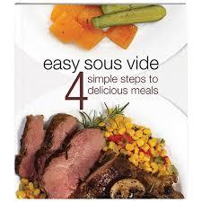 la cuisine sous vide livre de cuisine easy sous vide livres de recettes best buy canada