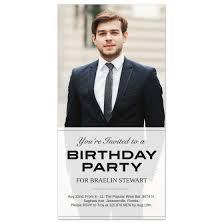 transparent 4x8 birthday invitation card