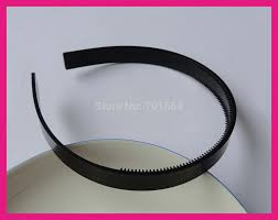 bando headbands 10pcs 13mm 1 2 black plain plastic hair headbands with two rows