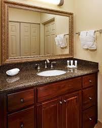 bathroom vanity bathroom interior design with dark brown wood