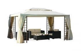 tonnelle de jardin avec moustiquaire tonnelle 3x3 m avec rideaux moustiquaire pièce à vivre