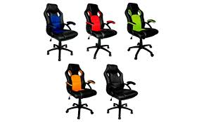 Office Chair Free Delivery Racing Style Office Chairs Groupon Goods