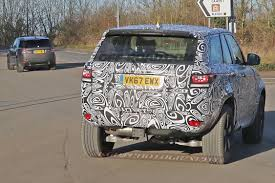 new land rover defender spy shots this is the first mule for the all new land rover defender off