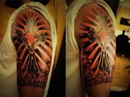 half sleeve arm tattoos tattoo cross designs for women star half sleeve 5446393 top