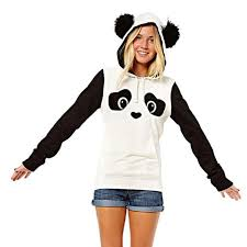 best sale sweatshirt women chinese style lovely panda pattern