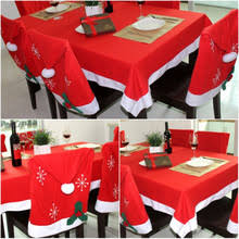 Santa Chair Covers Online Get Cheap Chair Red Cover Aliexpress Com Alibaba Group