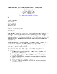 Example Of Cover Letter Resume Cover Letter Sample For Mechanical Engineer Resume Resume For