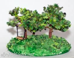 how to make miniature trees diy 100 ideas