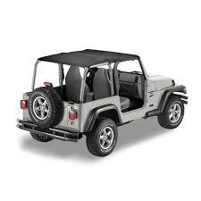 safari jeep bestop header safari top for 97 02 jeep wrangler tj in