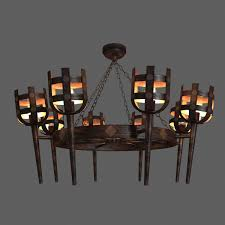 Classic Chandelier by 3d Classic Medieval Rustic Iron Chandelier Cgtrader