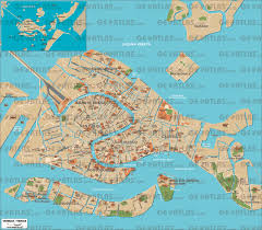 venice map geoatlas city maps venice map city illustrator fully