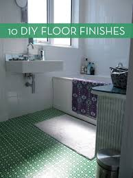 diy kitchen floor ideas diy flooring 10 easy ways to your floors look amazing curbly