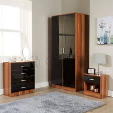 walnut bedroom furniture walnut bedroom furniture ebay