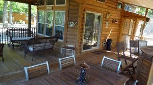 porches u0026 decks lakeside cabins resort