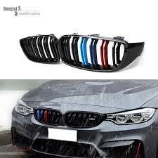 bmw 4 series m3 m tri color front kidney grill grille for bmw 4 series f32 f33 f36