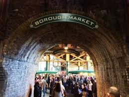 borough market inside brunch archives steph style