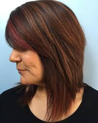 brunette hairstyle with lots of hilights for over 50 60 most prominent hairstyles for women over 40