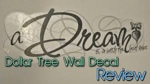 dollar tree wall decals quick review cheap decor creation in