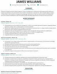 resume exles for software engineers 50 inspirational collection of sle resume software developer
