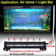 color changing led fish tank lights rgb remote color changing led aquarium fish tank light air curtain