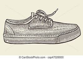drawings of sketch of sport shoes hand drawn sketch of sport