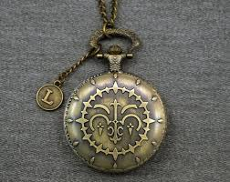 pandora hearts necklace images Pandora hearts pocket watch antique bronze locket necklace etsy jpg