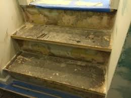 how to refinish ugly stairs