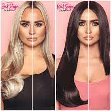 clip in hair extensions before and after synthetic clip in hair extensions 16 20 sunkissed hair choice
