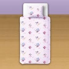 baby panda u0026 elephant 100 cotton cot crib set duvet cover