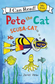 pete the cat scuba cat my i can read series by dean