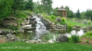 Small Backyard Pond Ideas Backyard Ponds And Waterfalls U2013 Mobiledave Me