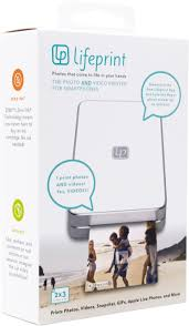 lifeprint lp001 3 wireless photo printer white lp001 3 best buy