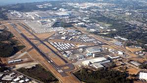 Airport Map Usa by Paine Field Wikipedia