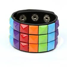 multi leather bracelet images Hot selling leather bracelet for male and female punk style multi jpg