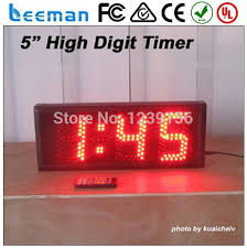 leeman 2 digits led countdown timer large 365 days countdown clock