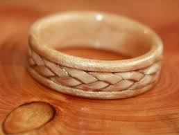 touch wood rings american wedding band ideas