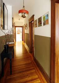 definitely a great idea to bring color into a hallway but still